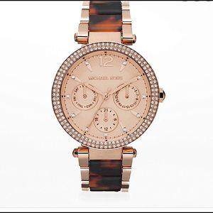 Michael Kors Rose Gold Tone Darci Watch